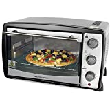 Andrew James Mini Oven And Grill In Black, 1500 Watts, 20 Litre Capacity
