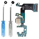 MMOBIEL Dock Connector für Samsung Galaxy S8 G950F USB C Ladebuchse Charging Port Flexkabel mit Mikrofon vorinstalliert und Selbstklebender Unterseite inkl 2 x Schraubenzieher