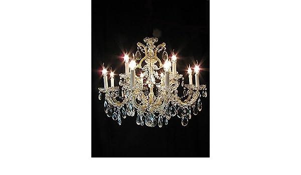 Plafoniere In Cristallo Di Boemia : Lampadario in cristallo di bohemia maria teresa luci