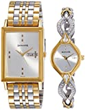 Sonata Wedding Analog Couple Watch, 770038063BM01