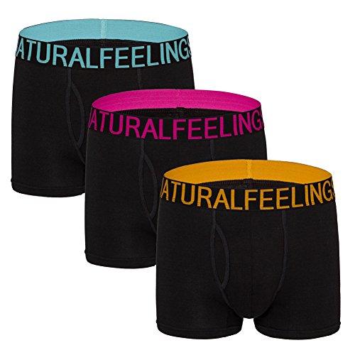 Boxer Shorts Mens Underwear Black Cotton Mens Boxers Pouch Boxer Briefs Underwear Men Pack Trunks S/M/L/XL/XXL