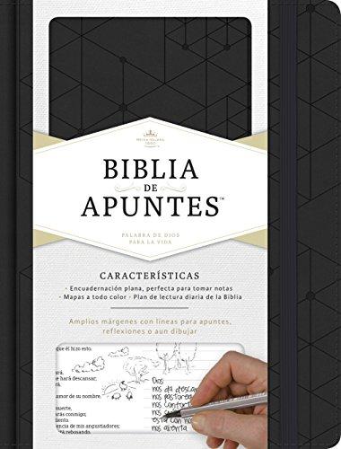 Rvr 1960 Biblia de Apuntes, Negro Símil Piel (Rvr Biblia 1960)