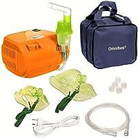 Omnibus BR-CN116 - Nuevo inhalador Aparato para inhalación de medicamentos líquidos con compresor Nebulizador