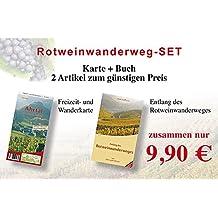 Rotweinwanderweg-Set: Karte und Buch