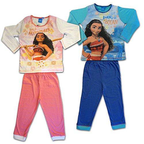 design di qualità 7d200 b2fc1 Disney Vaiana - Pigiama Completo Maniche Lunghe Maglia e Pantalone
