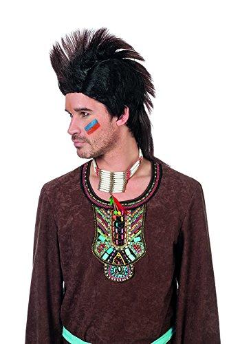Jannes Deluxe 8857 Indianer Mohawk Kostüm Verkleidung Fastnacht Party Karneval Fasching