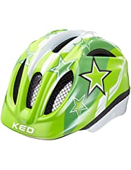 KED Meggy Helmet Kids Green Stars 2017 mountainbike helm downhill