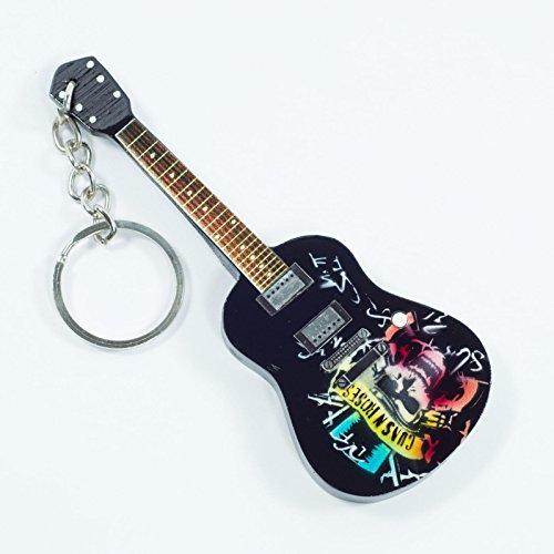 Portachiavi in Legno Forma Chitarra - Guns N' Roses - Tribute
