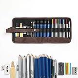 Lugoo Matite di Disegno Artistico,matite Colorate And Grafite di Carbonio Matite di Legno (41pcs)
