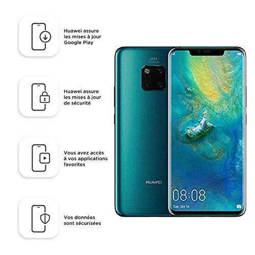 Huawei Mate 20 Pro 128GB Handy, Grün, Android 9.0 (Pie) -