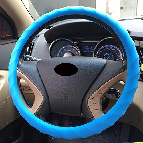 WAXCC Cubierta Del Volante Cubierta auto volante coche