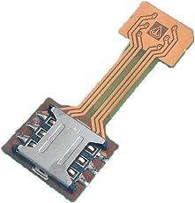 stealkart Hybrid Dual SIM Card and Micro SD Card Adapter (Gold)