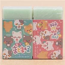 Linda goma de borrar perfumada gracioso gato pez pequeño caramelo de Japón