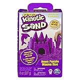 Kinetic Sand- Sabbia Modellabile Confezione Base, 227 gr, Colorii Assortiti, Multicolore, g, 6033332