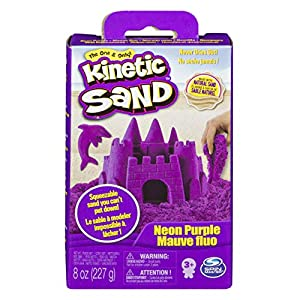 Kinetic Sand 6033332 - Arena moldeable, colores surtidos Base 227 g