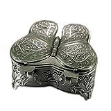 Elegante y Exquisito Diseño de Mariposas Estilo Europeo Vintage para Guardar los Pendientes, Joyas, Organizador, Caja de Regalos Vintage