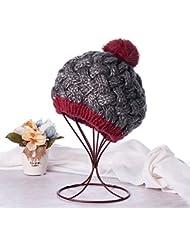 Qiaoba- Président de l'automne et de l'hiver élégant Knitting Hat Hat tricot