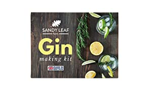 Sandy Leaf Farm Gin Making Kit - Make your own Gin at home in under a week!