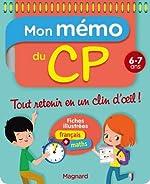 Mon Memo du CP 6 7 Ans de Morgane Céard