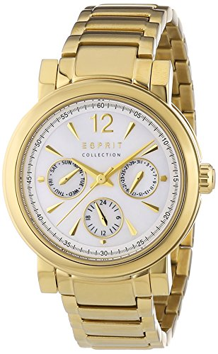 Esprit Damen-Armbanduhr Penia Analog Quarz Edelstahl EL102032F06