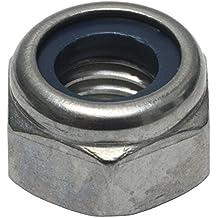 M8 Sicherungsmuttern ISO 10511 Form DIN 985 - selbstsichernde Stoppmuttern niedr rostfrei 30 St/ück Eisenwaren2000 Edelstahl A2 V2A