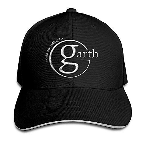 Hittings Sunny Fish6hh Unisex Adjustable Garth Brooks Logo Baseball Caps Hat One Size Black