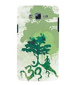 FUSON Om Tree Maditation 3D Hard Polycarbonate Designer Back Case Cover for Samsung Galaxy J7 J700F (2015) :: Samsung Galaxy J7 Duos (Old Model) :: Samsung Galaxy J7 J700M J700H