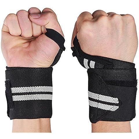 Golden Seeds Set di 2 Benda Polso Protezioni Polso per Forza Sport Fitness Training (Speciale Forze Portante)