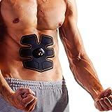 Ikeepi EMS Fitness Training Gear Electrical Stimulation Muscle Massage Belt Battery Powered for Abdomen