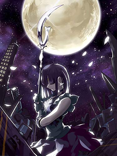 Infinite Arts Sailor Moon Sailor Saturn (24x32 inch / 60x80 cm) Silk Print Poster Seide Plakat - Silk Printing - 1E632A