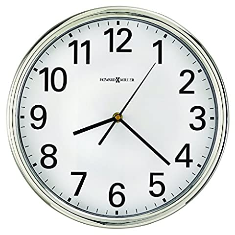 Hamilton Horloge murale, 30,5cm Argent, 1AA
