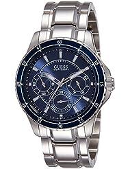 Guess Herren-Armbanduhr Analog Quarz Edelstahl W0670G2