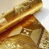 Reflektierende groß quadratisches Raster Gold Tapete Gold Deckenleuchte Deckenleuchte BARM Korridor Tapete die Bar