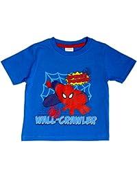 Marvel Ultimate Spiderman Wand Crawler-Kind-Jungen-T-Shirt - Alter von 18 Monate