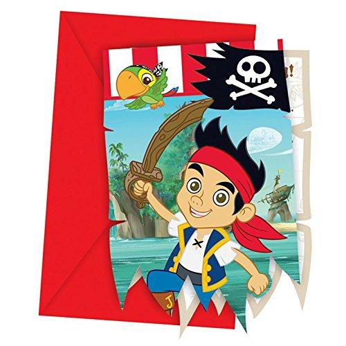 Jake und die Nimmerland Piraten - (Piraten Party Ideen)