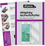 dipos I 6X Schutzfolie klar passend für ZTE Nubia M2 Folie Displayschutzfolie