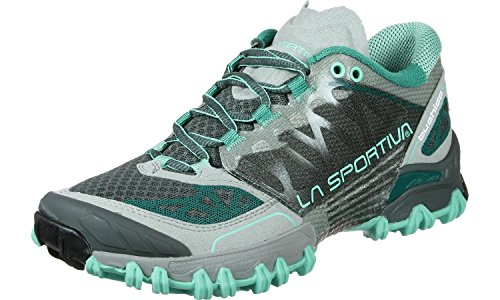 La Sportiva Bushido Women's Chaussure Course Trial - AW16 gris turquoise