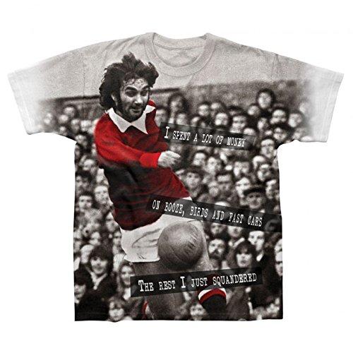 Spike Leisurewear Manchester United Football Legend Best Gift Mens T-Shirt