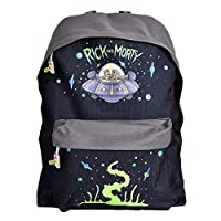 Rick and Morty Mochila de a Diario, Negro (Negro) - BIO-BP537132RMT