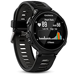 Garmin Forerunner 735XT GPS Multisport and Running Watch - Black/Grey