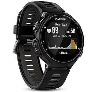 Garmin - Forerunner 735XT - Montre GPS Multisports avec Cardio Poignet (Ecran : 1,23 pouces) - Noir/Gris