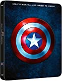 Captain America 1-3 Steelbook UK Exclusive Limited Edition Captain America 1-3 collection Steelbook Blu-ray Region Free