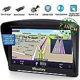 Mksutary GPS Navigation Monde pour Voiture 8Go, Ecran 5 pouces Tactile Capacitif...