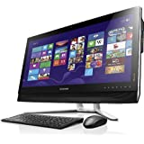 Lenovo B750 73,66 cm (29 Zoll) FHD IPS All-in-One Desktop-PC (Intel Core i7-4770, 3,9 GHz, 8GB RAM, 2TB HDD, NVIDIA GeForce GTX 760A/1GB, Win 8.1) schwarz
