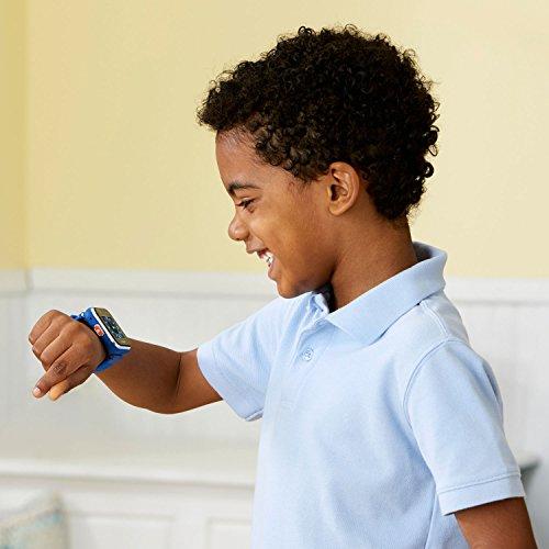 Vtech 80-193804 Kidizoom Smart Watch DX2 blau Smartwatch für Kinder Kindersmartwatch, Mehrfarbig - 5