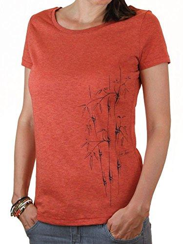 Ropa justa orgánico camiseta mujer