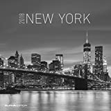 New York 2018 - Broschürenkalender (30 x 60 geöffnet) - schwarz/weiß - Städtekalender - Wandplaner: by Marco Becker