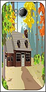 Snoogg Autumn Home Designer Protective Back Case Cover For HTC Sensation Xl