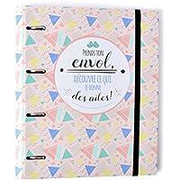 Grupo Erik Editores Carpeta 4 Anillas Troquelada Premium Amelie (Edtiado en Francés)