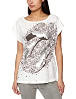 House Of The Gods RS Leopard Tongue Over Sized Women's T-Shirt